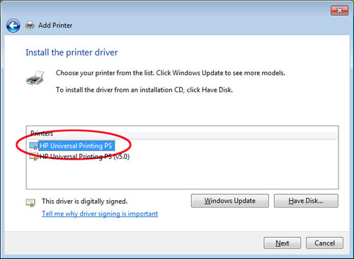 HP Universal Print Driver download
