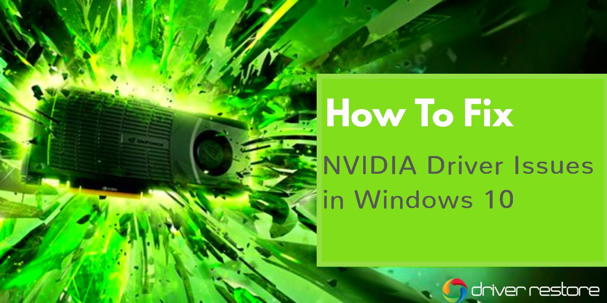Update NVIDIA Drivers Windows 10