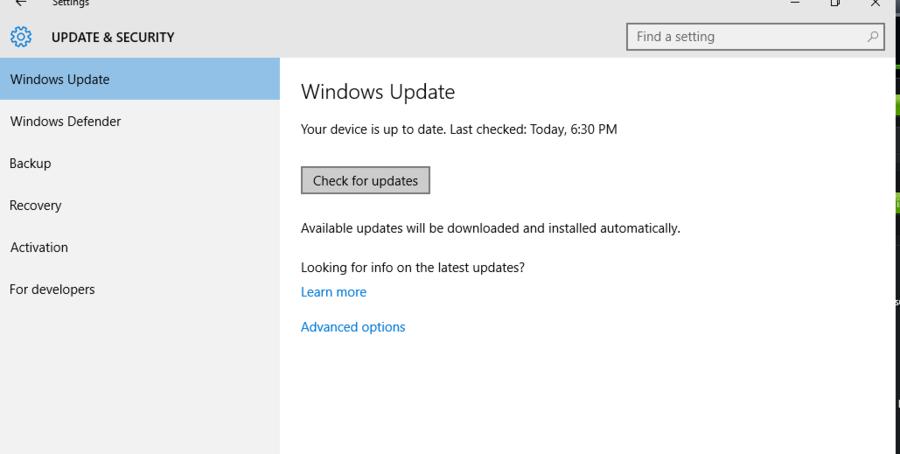 nvidia driver update windows 10
