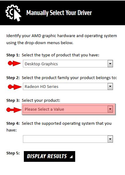 AMD Radeon Graphic HD Drivers